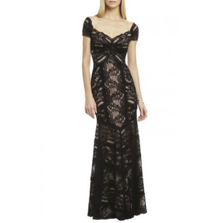 Black Transparent Gown2 Sewa Gaun kebaya